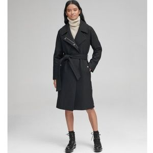 Marc New York Wool Blend Trench Coat, NWT
